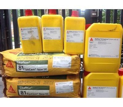 Sikafloor 81 epocem vữa ngăn ẩm cho sàn nhà thoáng mát